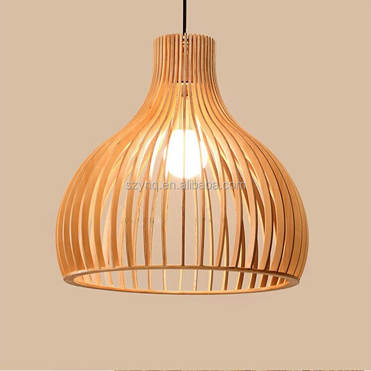 coffee and home wooden pendant lamp hanging light