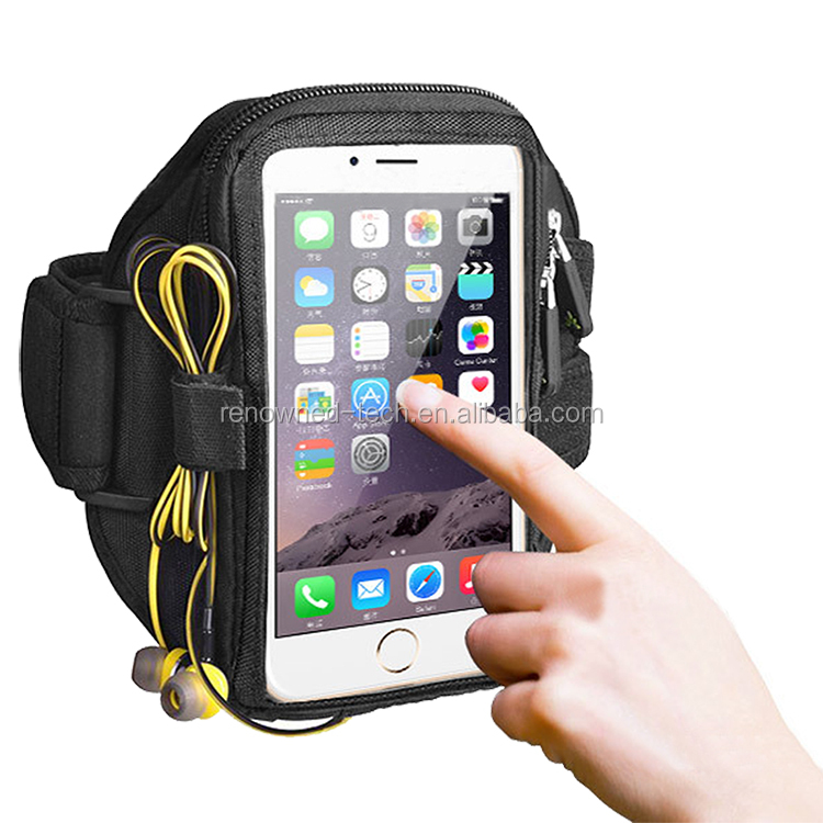 2017 Popular Outdoor Neoprene Running Sports Cellphone Armband For <strong>Iphone</strong> 8&HTC One,Lazy Arm Phone Holder,Jogging Pouch/Case