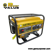 1kw to 6kw Astra Korea Portable Gasoline Generator, Petrol engine Generator For Sale
