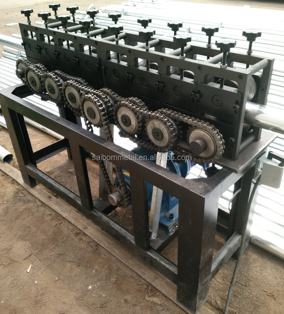 wrought iron machine,handrail pipe forming machine,cold rolling embossing machine