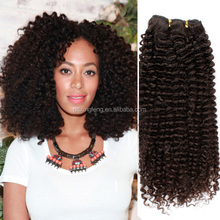 Clearance Sale!!!popular products in usa virgin jerry curl weave extensions human hair