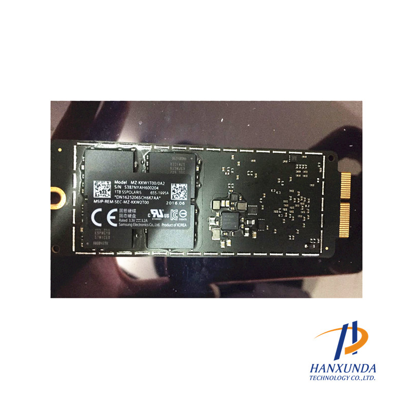 HANXUNDA 655-1995A Brand NEW 1TB SSD for Macbook A1502 A1398 2016