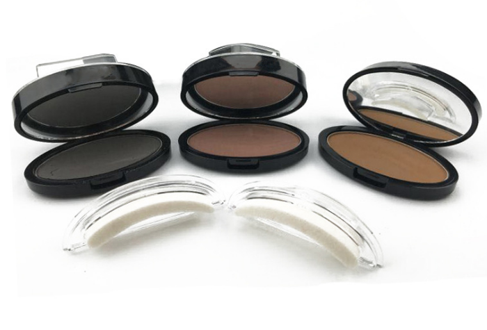 Customized Makeup Cosmetic Pressed Powder No Logo Eyebrow Fashion Stamp Seal Eyebrow