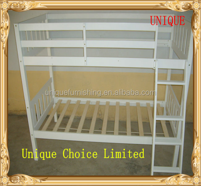 Used cheap prices solid wood kids bunk beds for sale
