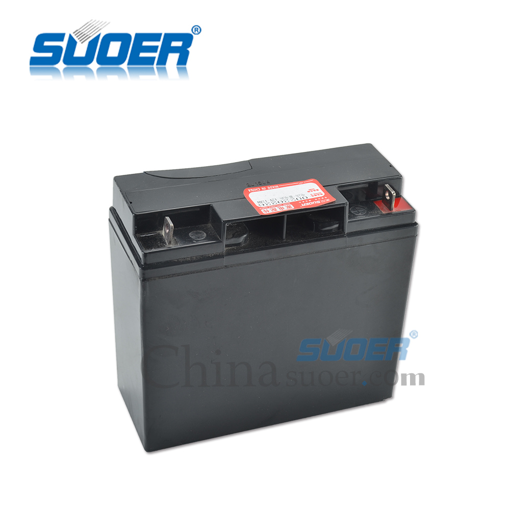 Suoer Storage Battery 12V 17AH Maintenance Free Dry Battery