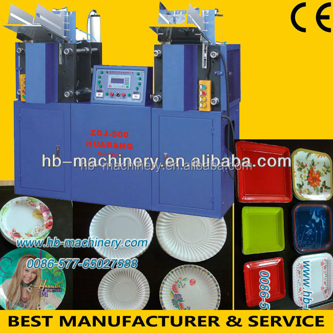 Disposable Party Paper Plate Making Machine Details