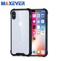 Reliable Quality Shockproof Transparent Mobile Case Phone Covers With AirBag Protected TPU Edge Phone Cover For Iphone X/7/8