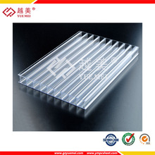 Guangzhou polycarbonate twin wall 3mm sheets in 100% original material of Bayer and GE with high quality