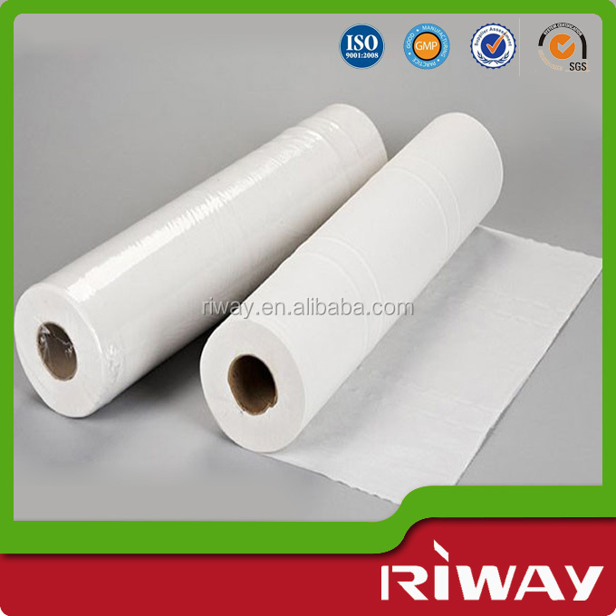 Disposable hospital medical paper bed sheet, medical bed sheet roll