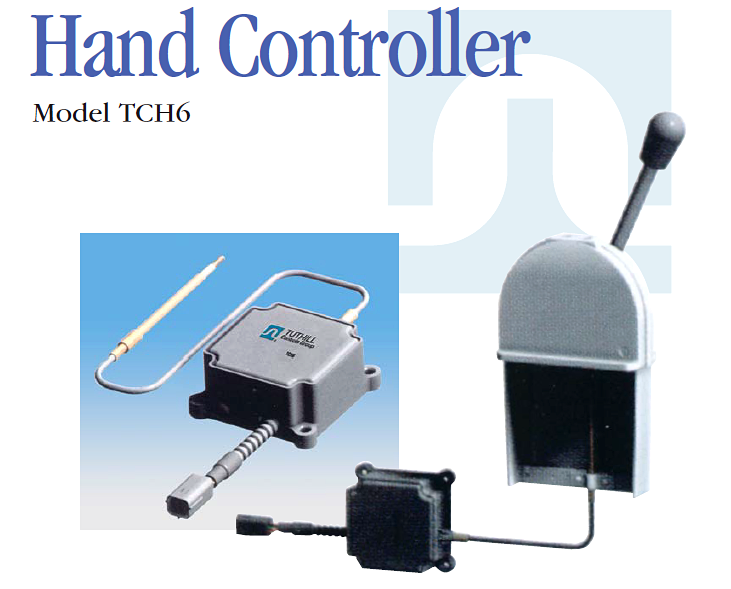 hand throttle control lever for agricultural machinery