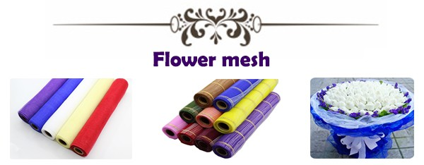 Good Quality & Low Price clear plastic flower meshes