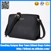 New fashion simple design wholesale pu leather women european shoulder bag messenger bag