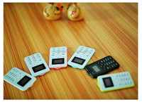 DIHAO 2016 newest Colorful thin 4.8mm Ultra Thin c6 mobile pocket Card Phone mini Gift child basic mobile C6 Mini Phone