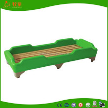 School and Kindergarten Plastic Stackable Children Bed Kids Bed