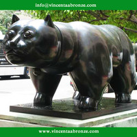 Botero bronze famous animal sculptures ( all designs can be reproduced)
