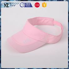 Latest arrival fashionable bulk sale sun visor cap wholesale price