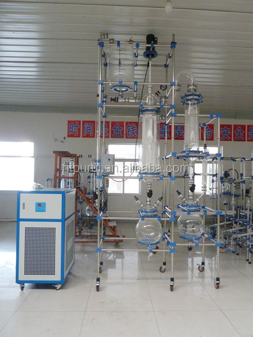 Lab Used Wiped Film Evaporator for Distillation