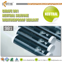 Structural metal fabrication for building work silicone sealant