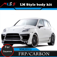 High Quality Perfect Fitment LM Style Body Kit For Porsche Cayenne 958