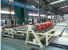 High performance gypsum ceiling board lamination machine for India