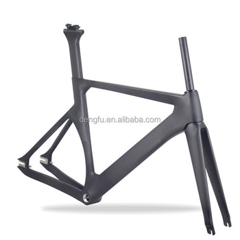 700C new painting design track frame carbon fixed gear bike frame