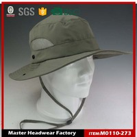 wholesale outdoor lightweight 100% polyester foldable bucket hat