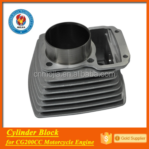 200cc cg motorcycle engine parts aluminum motorcycle cylinder