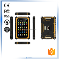 7 inch Android waterproof ip67 2G 3G Bluetooth GPS WIFI FM Compass Gyroscope G-Sensor Accelerometer rugged touch tablet