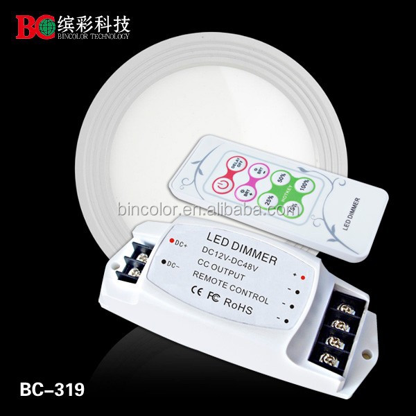 High quality constant current 2700mA single color rf dimmer conference commercial lighting controller