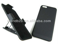 New Arrival 2 Piece Hard Rubber Belt Clip Stand Case For iPhone 5C mini Lite