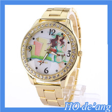 HOGIFT Wholesale New Luxury Nicole Lee Watch Sexy Girl Watch