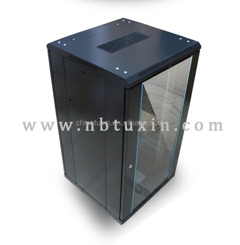 19 inch 21U network cabinet with fans