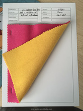 rose/ yellow colour 20% cashmere 80% wool blend fabric