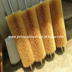Quality Assurance nylon wire brush roller for cleaning & polishing with low price