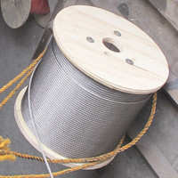 galvanized steel wire rope 7x19 6x19+fc 3mm