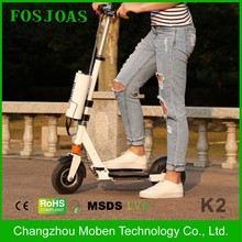 Made in China Airwheel Z3 350 Watt two wheels scooters mopeds with handling arm