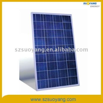 Poly PV Solar Panels 100WP Good Price