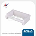 Anho patent wall mounted white plastic toilet paper holder