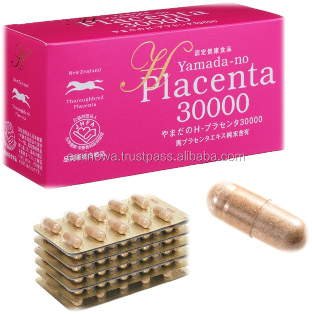 Placenta 30,000 placenta substitute for placenta collagen with Anti-aging made in Japan