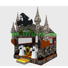 Cheap Inflatable Bouncer House, Combo Halloween Used Holiday Inflatable for Sale