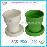New Design Eco-friendly 2013 Hot Selling Silicone Unbreajabke Tea Cups
