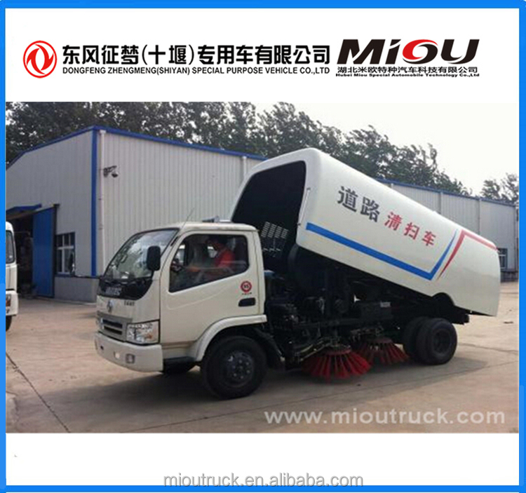 High quality China supplier 4*2 sweeper vacuum truck for sale