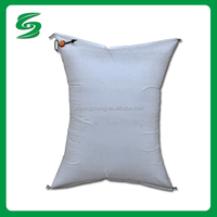 PP woven PA PE inner film cushion dunnage bag for container