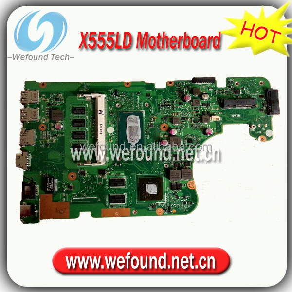 Hot sale 100% working motherboard X555LD for ASUS