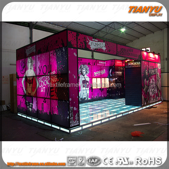 2016 Hot Sale Modern/Customized indoor exhibition booth pvc panel