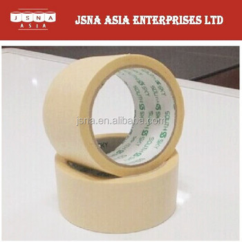 Natural colored recyclable high temperature resistance 48 width Crepe Masking Tape