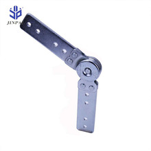 Jinpai 180~225 Degree 3 Gears click clack adjustable hinge for sofa headrest sofa armrest ratchet hinges