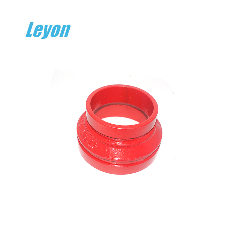 ductile casting iron ecc grooved reducer grooved eccentric reduceing coupling