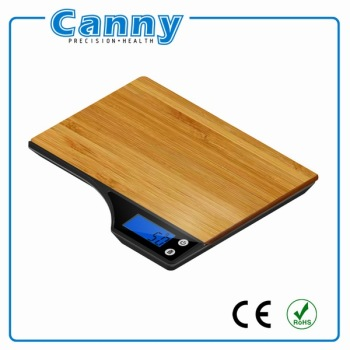 Wooden platform ktichen food scale for baking/cooking