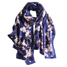 Mulitcolor new style best selling digital print Silk oblong scarf white digital print silk scarf